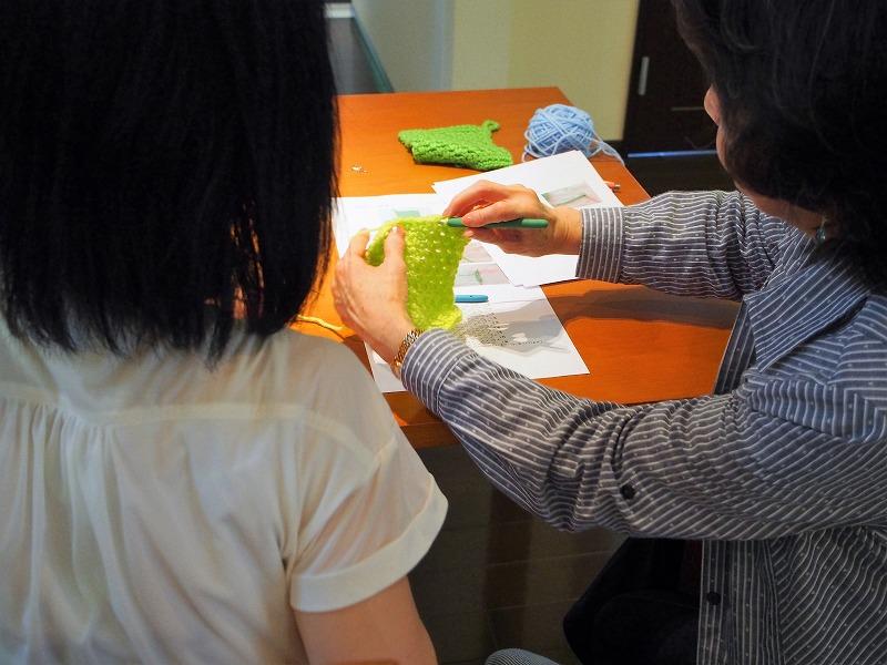 手編み~かぎ針~教室