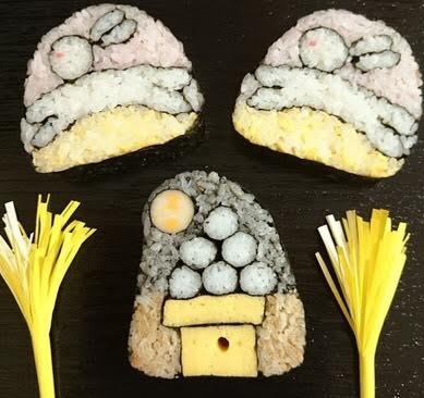 飾り巻き寿司教室(はねうさぎと月見だんご)